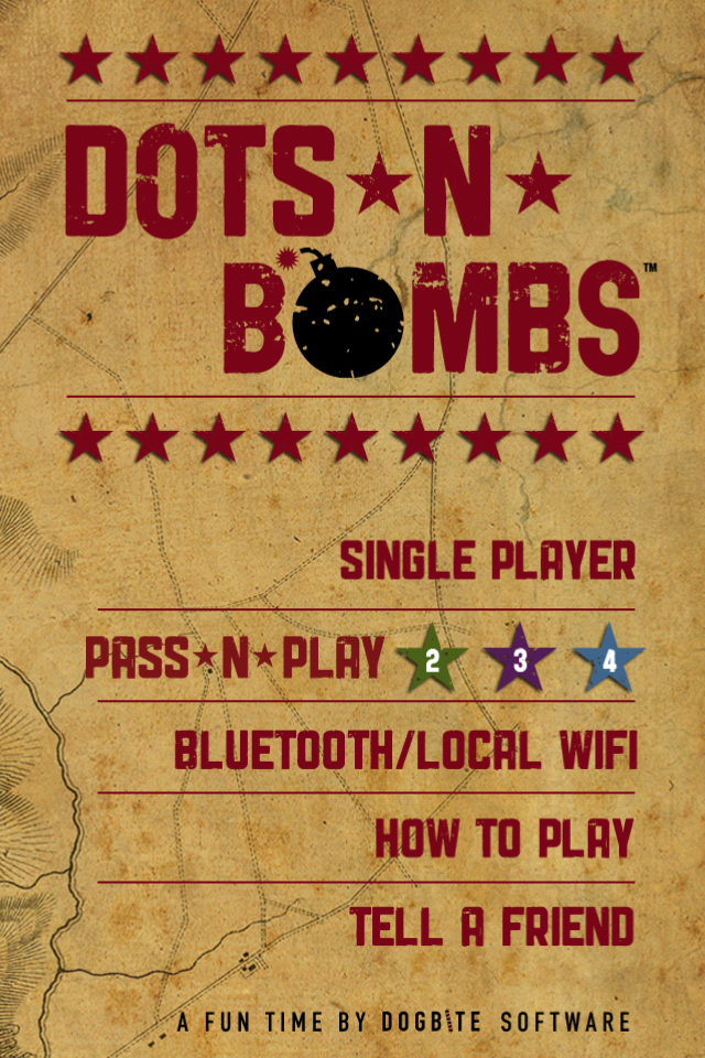 Screenshot Dots-n-Bombs