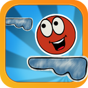 Roll the Ball and Jump ! The Best Fun Doodle Platform Game mobile app icon