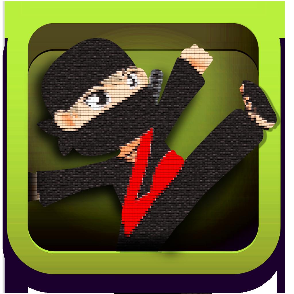 Храбрый Мини Воин Ниндзя - прыгает и бегает Quest Free